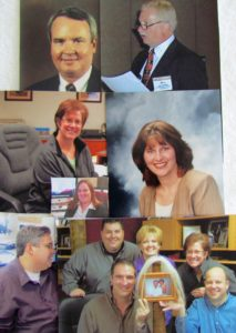 Ron Willis, Bill Bohmer, Jan William, Cory Hayes, Sean Brooks, Russell Ward, Jeni Moore, Janmarie Geimer