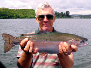 Trout fishing in Canada