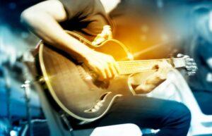 Floyd Playing Guitar